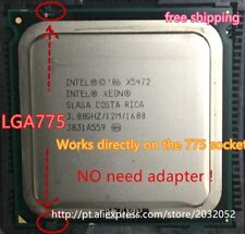 Intel Xeon X5472 Processor(3.0GHz/12M/1600MHz)equal to LGA775 Core 2 Quad Q9650