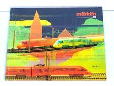 MÄRKLIN CATALOGUE DE 1987 1988 LOCOMOTIVE à Vapeur Voiture tourisme