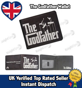 The Godfather PU Leather Wallet Christmas Gift Stocking Filler Classic Retro