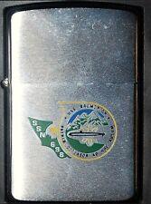 ZIPPO Us Navy Submarine USS BREMENTON SSN 698 - NEW 1995