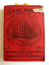 1936 Shure Winner Catalog The Worlds Largest Novelty House w/ Mickey Mouse