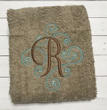 Monogram Hand towel Bathroom hand towel