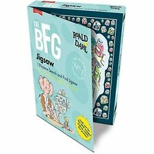 THE BFG JIGSAW ROALD DAHL - 150 PIECE SEARCH & FIND FOR HUMAN BEANS AGED 8 - 80