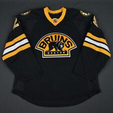 2014-15 Maxime Talbot Boston Bruins Game Used Worn Reebok Hockey Jersey MeiGray
