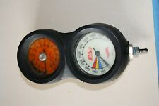 Prosub Analog Pressure/Depth Gauge Combo