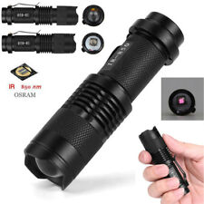IR Lamp 850nm 5W Zoom Infrared Light Flashlight Hunting Torch Lamp Night Vision