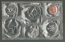 1978 Uncirculated Canada Coin Proof Like Set ~ cv $7 - Superfleas
