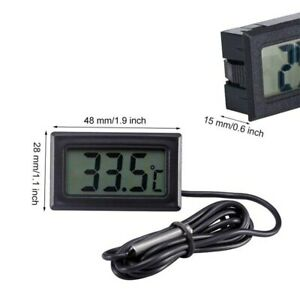 Electronic Water Temp Gauge Top Mini Digital Thermometer LCD Display Thermometer
