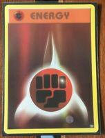 Pokemon Card  FIGHTING ENERGY  REVERSE HOLO  EVOLUTIONS 96/108 ***MINT***
