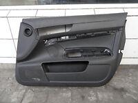 Audi A6 4F Pannello Porta Anteriore Destro 4F1867106A Pelle Carenatura Nero