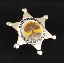 Sheriff's Badge prop replica from Once Upon a Time (holder not included)