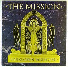 "12"" LP-The Mission-Gods own Medicine-a3848-Slavati & cleaned"