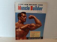 Muscle Builder 1953 November Vol 1 #4 Magazine Shelf L4