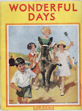 WONDERFUL DAYS vintage well illustrated stories verses and full colour plates. c