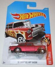55 Chevy Bel Air Gasser Hot Wheels Factory ERROR MISPRINT NEW Sealed NO TAMPO