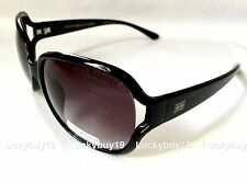 NWT Tommy Hilfiger TRISTA Authentic Black Silver Sunglasses Women /215/ NEW