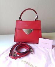 COCCINELLE Echtleder Crossbody Mini Bag Tasche Umhängetasche in Rot NEU