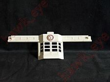 Plasticville Airport Building White Top Piece with Clock O-S Scale