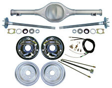 """CURRIE 82-97 S-10 & BLAZER REAR END & 10"""" DRUM BRAKES,LINES,PARKING CABLES,AXLES"""