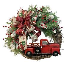 Neues AngebotPumpkin Garland Door Hang Tag Wreath Christmas Fall Eucalyptus Farmhouse Truck