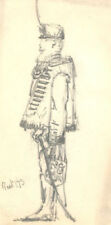 Antique (Pre-1900) Dealer or Reseller Military Art Drawings