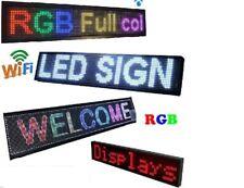 INSEGNA DA ESTERNO WI-FI LUMINOSA SCORREVOLE LED PROGRAMMABILE FULL RGB APP IP65