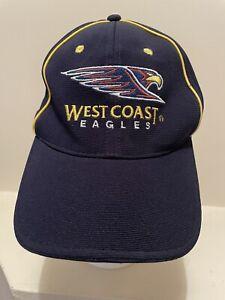 West Coast Eagles AFL Captains Club Members Cap Hat - NEW