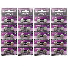 40PCS AG13 LR44 LR154 157 303 1.5V Alkaline Button Cell Watch Battery HyperPS