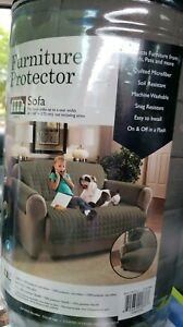 Innovative Textile Solutions Microfiber Sofa Furniture Protector green