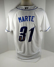 2019 Omaha Storm Chasers Yunior Marte #31 Game Used White Jersey
