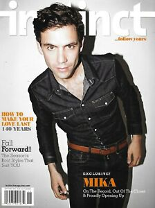 Instinct Gay Magazine Mika Fall Fashion Mid-Atlantic Escapes Martha Wash 2012