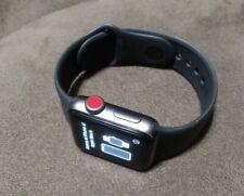 Apple Watch Series 3 - 38mm Aluminum Case - W/ Black Band(GPS + LTE) Fast Ship