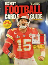 New 2020 Beckett Football Card Annual Price Guide 37th Edition Patrick Mahomes