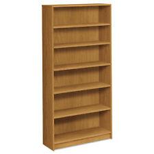 Hon 1870 Series Bookcase Six Shelf 36w x 11 1/2d x 72 5/8h Harvest 1876C