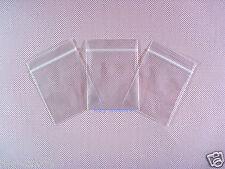 "2000 Poly Reclosable Zipper Plastic Ziplock Bags 2.4 Mil_2.3"" x 3""_60 x 80mm"