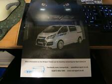 FORD Transit M-SPORT VAN-Limited Edition Rally WRC M Sport vendite OPUSCOLO 2015