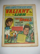 VALIANT And LION comic 10th August 1974.