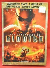 The Chronicles of Riddick Dvd Pre-Viewed Clean Disc Unrated Directors Cut