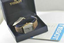 Vergoldete Tissot Armbanduhren für Herren
