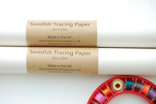 Swedish Tracing Paper 1m x 10m Roll - For Patterns, Sewing, Quilting and More