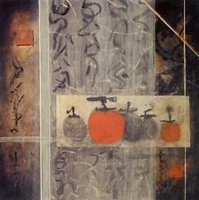 "Don Li-Leger ""Persimmons l"" Fine Art Reproduction"