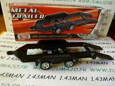 GQ4C  remorque 1/43 MOTORMAX metal trailer