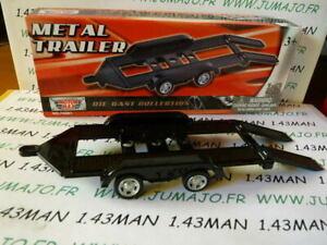 DIO6 remorque 1/43 MOTORMAX metal trailer