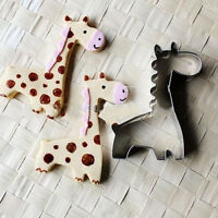 Giraffe Animal Cookie Biscuit Cutter Cake Pastry Bread Mould Mold Baking Tool