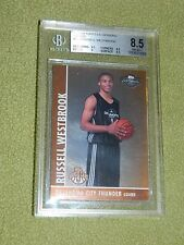 RUSSELL WESTBROOK 2008-09 TOPPS CO-SIGNERS BRONZE BGS 8.5 /299. POP 2 BGS GRADED