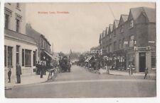 Mitcham Lane Streatham London 1906 Postcard 816b