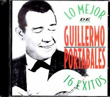 GUILLERMO PORTABALES - 16 GRANDES EXITOS - CD
