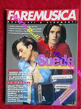 Rivista FARE MUSICA 143/1993 Suede Alice In Chains Pino Daniele Hal Willner Nocd