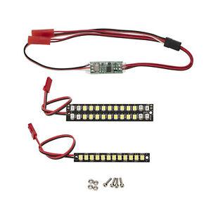 LED Light Strip Bright Bumper Light Lamp For   MAXX Small X 1/10 RC Cars
