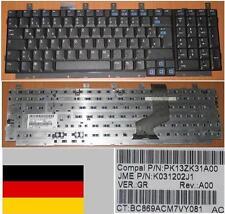 Teclado Qwertz Alemán HP DV8000 DV8200 EK776EA 403809-041 PK13ZK31A00 Negro